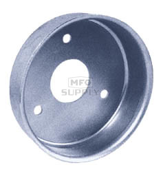 "AZ2542 - 5"" Brake Drum w/o flange"