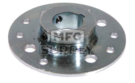 "AZ2561-W1 - Steel Mini-Hub for 3.228"" and Indus Pattern with Set Screws. <b>Most Popular</b>"