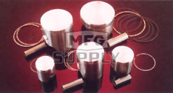 : 87.45 1998-2002 Suzuki LT-500 Quadrunner ATV Engine Piston Kit mm Stock Bore Size