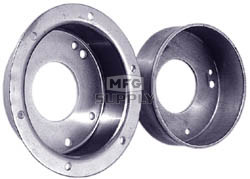 "AZ2213-ID - 4-1/2"" Brake Drum, With Flange - Machined ID"