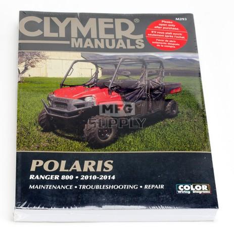 CM293 - 2010-2014 Polaris Ranger 800 series Repair & Maintenance Manual.
