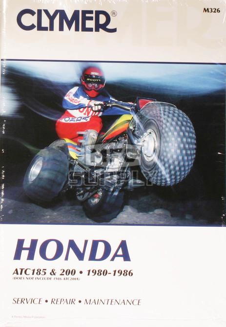 CM326 - 80-86  ATC185 & ATC200 models Honda Repair & Maintenance manual.