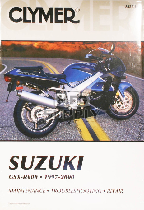 CM331 - 97-00 Suzuki GSX-R600 Repair & Maintenance manual
