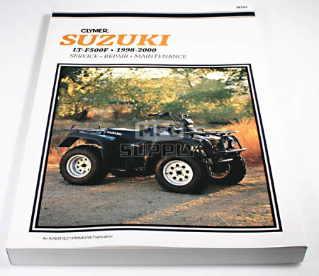 cm343 98 00 suzuki ltf500f quad runner 4x4 repair maintenance rh mfgsupply com LT-F500F Suzuki Service Manual LT-F500F Suzuki Service Manual