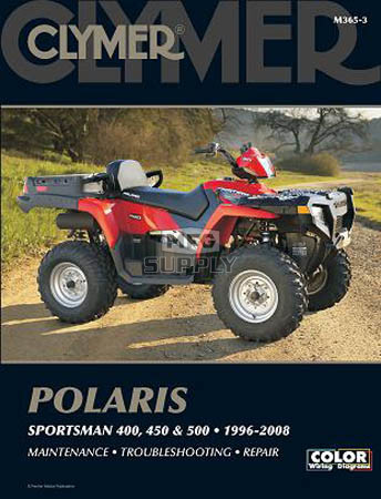 Cm365 96 10 Polaris Sportsman 400 450 500 Repair Maintenance