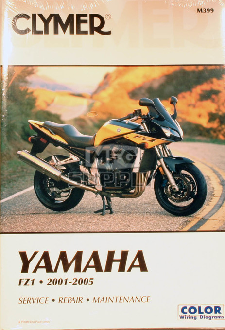 CM399 - 01-05 Yamaha FZ1 Repair & Maintenance manual