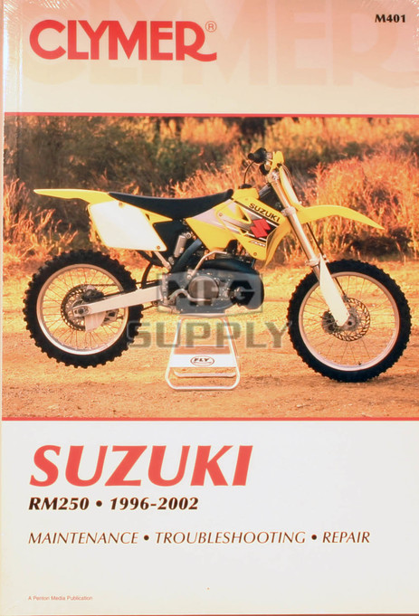CM401 - 96-02 Suzuki RM250 Repair & Maintenance manual