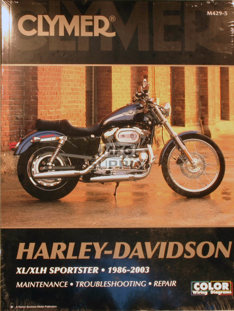 CM429 - 86-03 Harley Davidson XLH883, XL883R, XLH1100, XL1200, XLH1200 Repair & Maintenance manual
