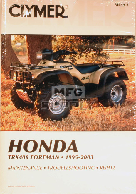 CM459 - 95-03 Honda TRX400 TRX400FW Foreman 4x4 Repair & Maintenance manual.