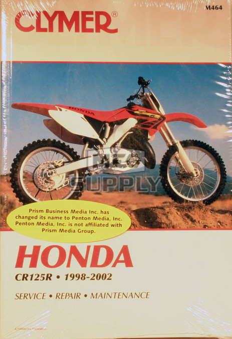 CM464 - 98-02 Honda CM125R Repair & Maintenance manual