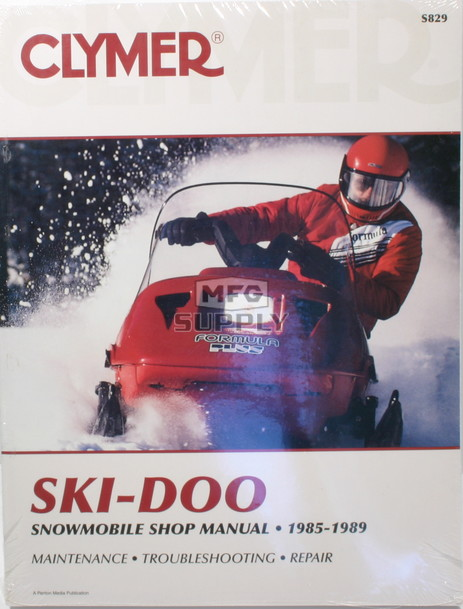 CS829 - 85-89 Ski-Doo Snowmobile Shop Manual