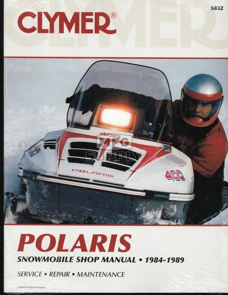 CS832 - 84-89 Polaris Snowmobile Shop Manual