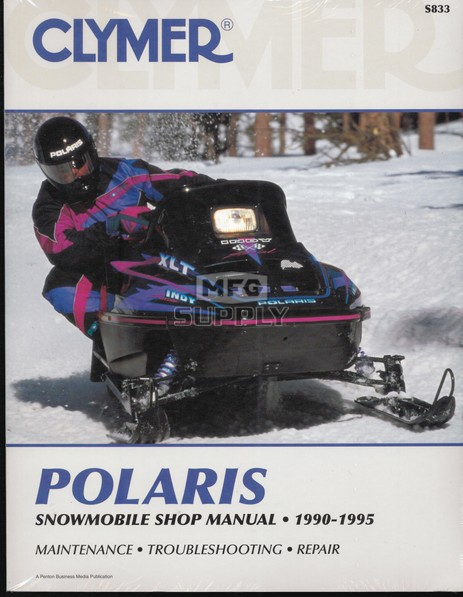 CS833 - 90-95 Polaris Snowmobile Shop Manual