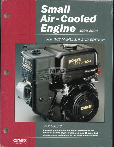 Small Air-Cooled Engine Service Manual (1999-2000)