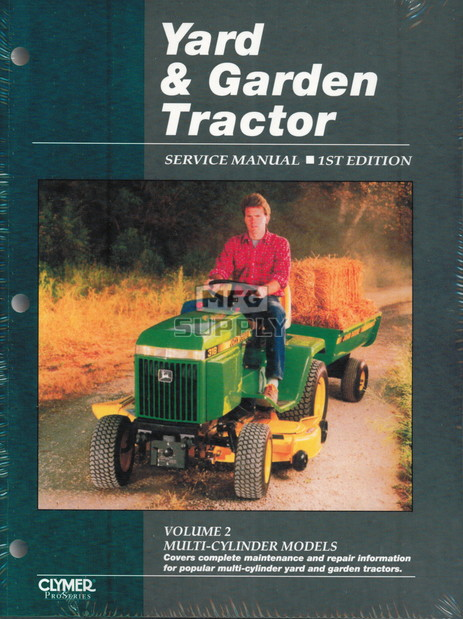 Yard & Garden Tractor Service Manual - Multi-Cylinder Models (Volume 2)