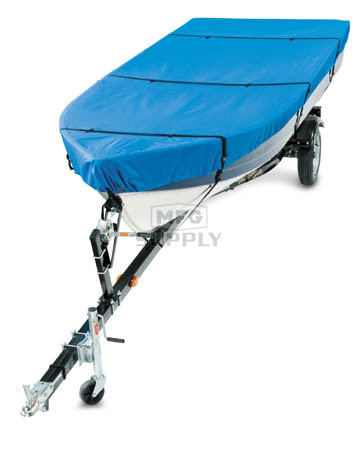 66133 - Deluxe Boat Cover for 14'-16' Fishing Boats. Trailerable.