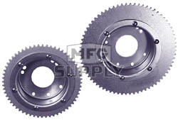 AZ2217-OD - 60 Tooth Sprocket/Drum Assembly - Machined OD