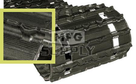 """9791T - .725"""" Camoplast Durasport 725 Touring Track. 15"""" x 121"""""""