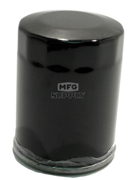 FS-717 - Black Spin-On Oil Filter for many Polaris ACE, Sportsman, RXR and Ranger ATVs & UTVs