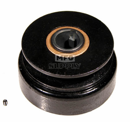 "H1P37 (LD4P-60) - Hilliard Extreme Duty Pulley Centrifugal Clutch. 1"" bore. 3.7"" Pulley OD. AB belt x-section."