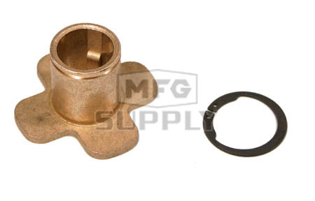 "H34B - 3/4"" Hilliard Replacement Clutch Bushing (Short) with snap ring"