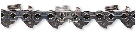 18H - Harvester Chain  (.404 pitch, .080 gauge). Order by the number of drive links.