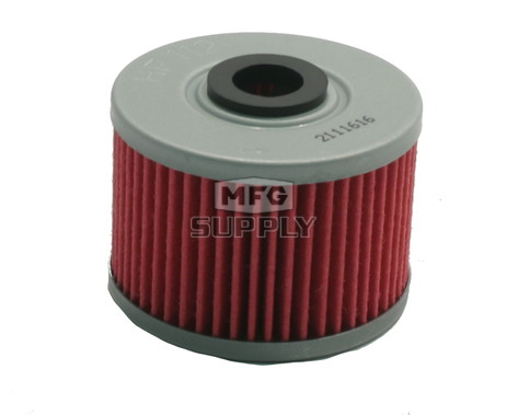 HF112 - Oil Filter for 2008-2014 Kawasaki KFX450R ATVs