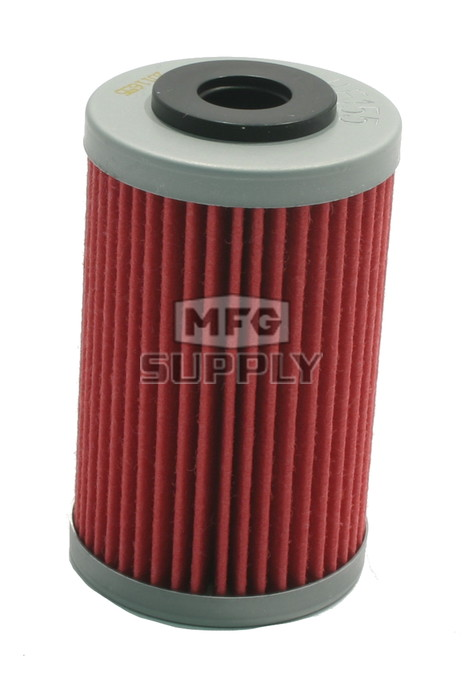 HF155 - First (long) Oil Filter for Polaris Outlaw 450/525 ATVs