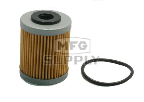 HF157 - Second (short) Oil Filter for Polaris Outlaw 450/525 ATVs