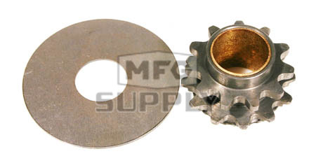 """HI1135 - 11 tooth, #35 replacement sprocket for Hilliard Extreme Clutch. With Special bushing and thrust washer. For 3/4"""" bore only."""