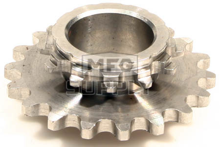 HI1835-W2 - # 10: 18 tooth, #35 replacement sprocket for Hilliard BLAZE Clutches