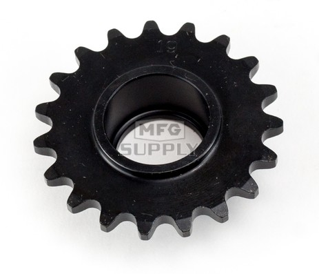 HI1935-B 19 tooth, #35 replacement sprocket for Hilliard Clutches (new bearing style)