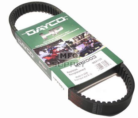HP2003 - Polaris Dayco ATV Max Belt. <b>Most Popular</b> without EBS