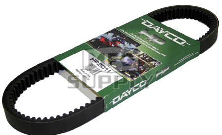 HP2011 - Dayco High Performance Belt. Replaces 14153-G1 belt on 69-87 E-Z Go Gas Golf Carts.