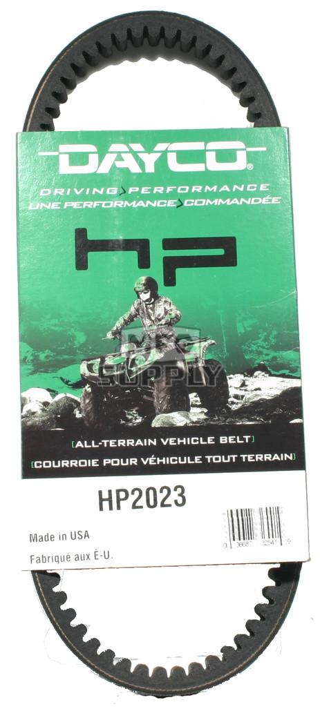 HP2023 - Dayco High Performance Utility Vehicle Belt. Fits Kawasaki Mule 520/550 Series