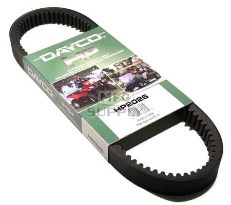 HP2026 - Dayco High Performance Utility Vehicle Belt. Fits Kawasaki Mule 3000/3010/4000/4010 Series