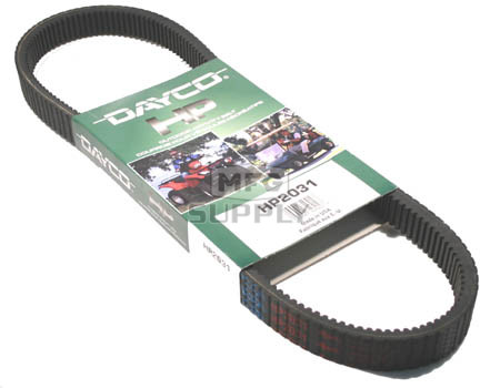 HP2031 - Dayco High Performance Utility Vehicle Belt. Fits John Deere Gator HPX 2x4/4x4, Trail Gator HPX 2x4/4x4