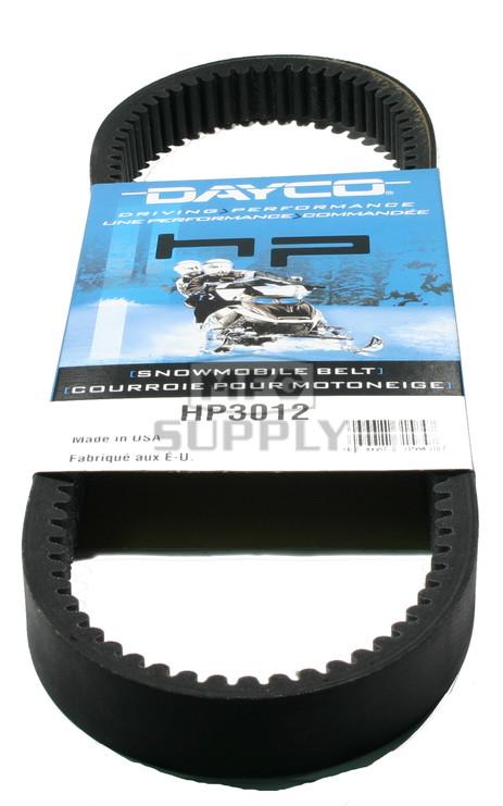 HP3012-W2 - Kawasaki Dayco HP (High Performance) Belt. Fits 77-82 Kawasaki Snowmobiles.