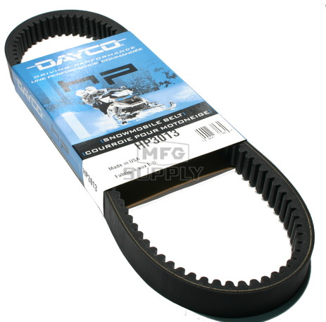 HP3013-W1 - Harley-Davidson Dayco HP (High Performance) Belt. Fits 70-75 Harley Davidson Snowmobiles.