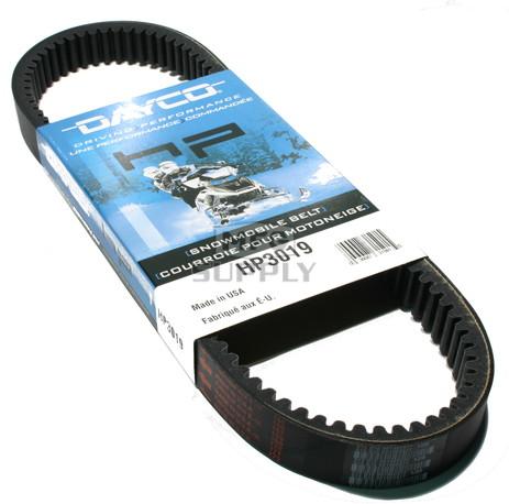 HP3019-W1 - Moto-Ski Dayco HP (High Performance) Belt. Fits 76-85 Moto Ski Snowmobiles.