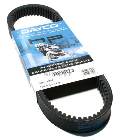 HP3023 - Ski-Doo Dayco HP (High Performance) Belt. Fits 84-03 mid power Ski Doo Snowmobiles.
