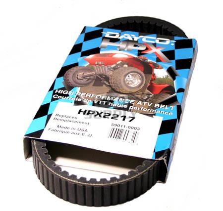 HPX2217-W1 - Suzuki Dayco HPX (High Performance Extreme) Belt. Fits 04-06 Twin Peaks 700