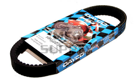 HPX2236 - Bombardier Dayco HPX (High Performance Extreme) Belt. Fits higher powered Outlander & Renegade