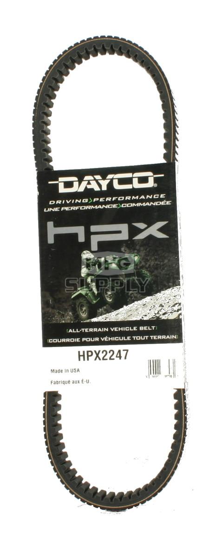 HPX2247 - John Deere Dayco HPX (High Performance Extreme) Belt. Fits Gator XUV 620i and 625i UTV.