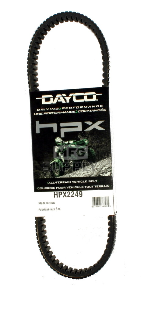 HPX2249 - John Deere Dayco HPX (High Performance Extreme) Belt. Replaces M174096 Drive Belt