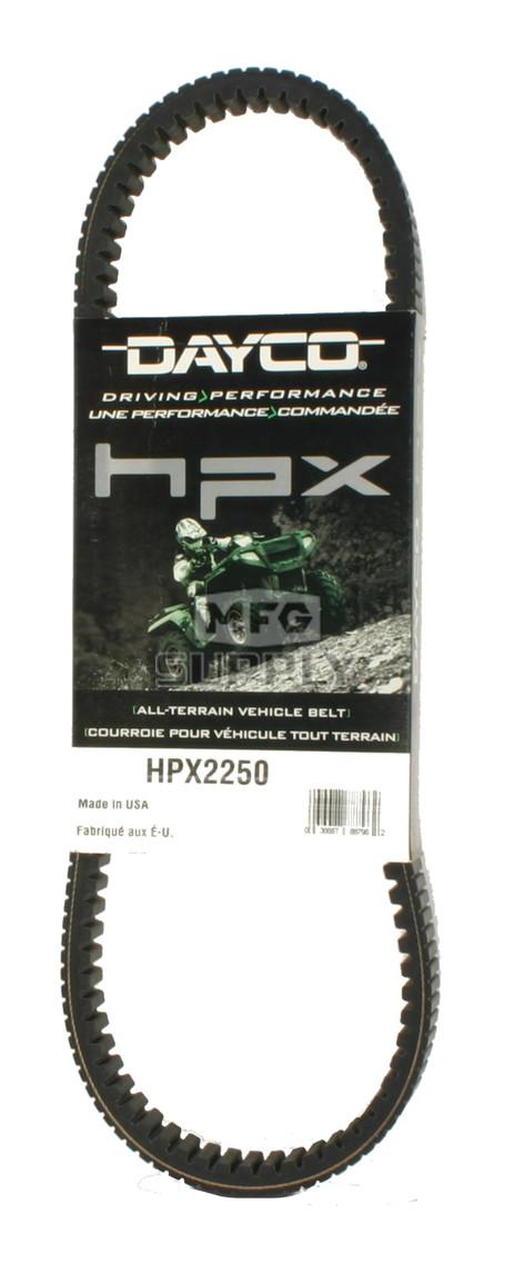 HPX2250 - John Deere Dayco HPX (High Performance Extreme) Belt. Fits 550 Gator UTV