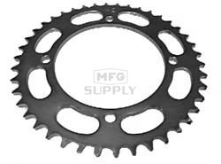 KS003395 - Yamaha ATV 42 tooth rear sprocket. Fits Warrior & Banshee models