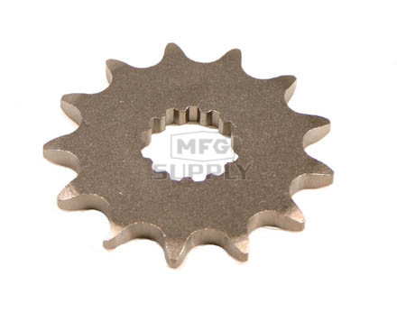 KS003418 - Yamaha ATV 13 tooth front sprocket. Fits 01-02 YFM660R Raptor