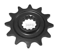 KS003441 - Suzuki ATV 12 tooth front sprocket. Fits 85-92 LT250R/S QuadRacer