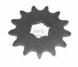 KS003678 - Yamaha ATV 13 tooth front sprocket. Breeze, Tri-Moto, Warrior, Banshee